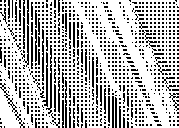 A part of the sphere of radius 45 about (0,0) under the action of G